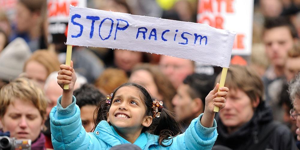 BURN DOWN RACISM!