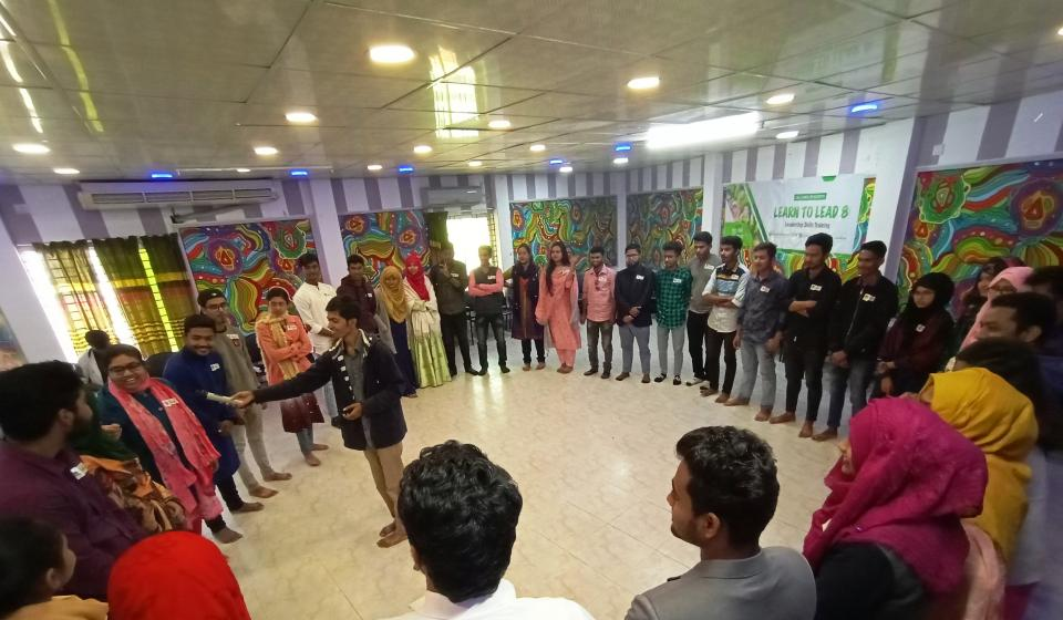 Leadership workshop in Bangladesh