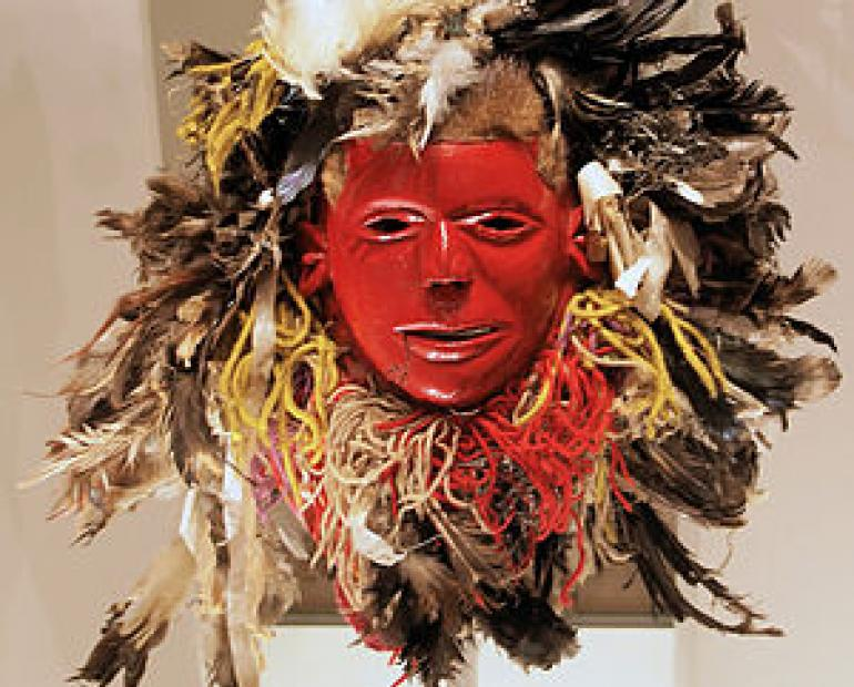 Nyau Mask for the chewa speaking people in Zambia