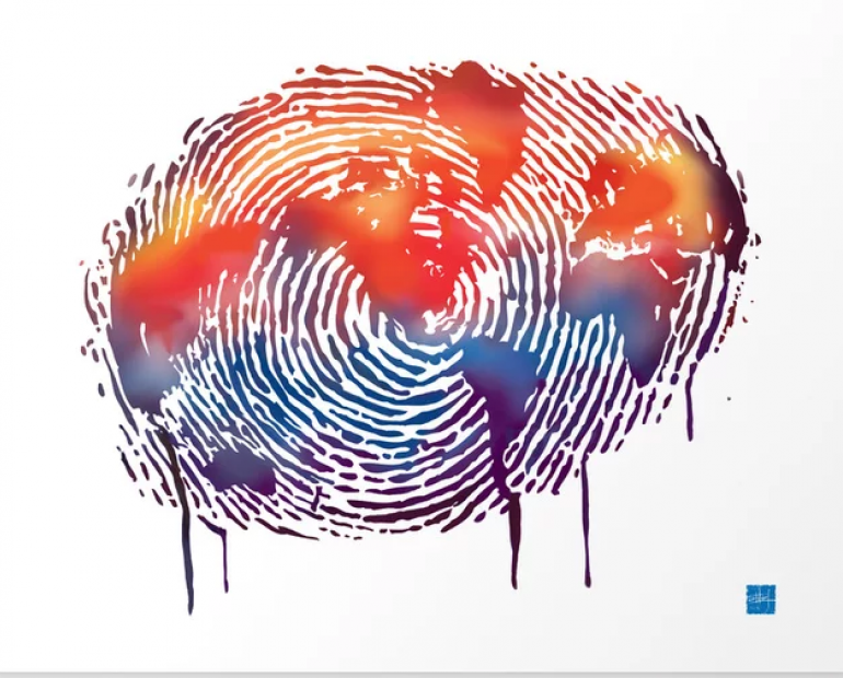 world fingerprint