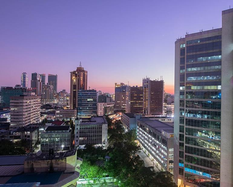 Dar es Salaam, Tanzania;  one of the fastest growing cities in Africa