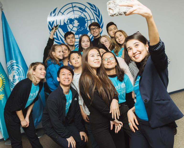 UNICEF Volunteering Experience