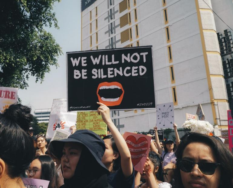 Photo from the Women's March 2019 in Kuala Lampur. Source: Unsplash