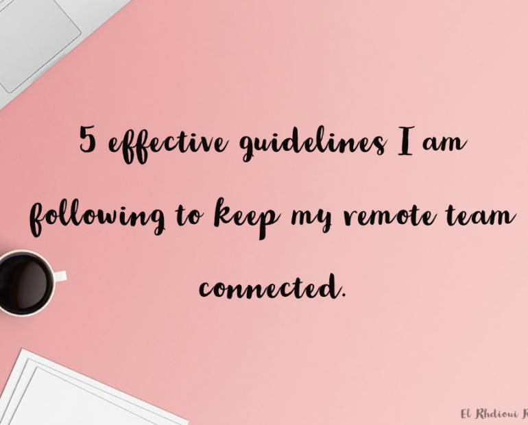 5 effective guidelines!