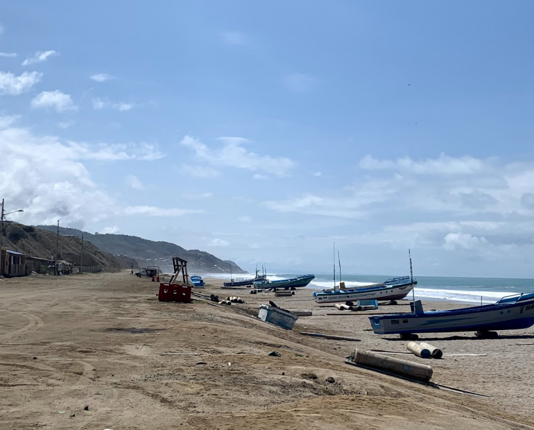 San Lorenzo, rural community in Ecuadorian coastline