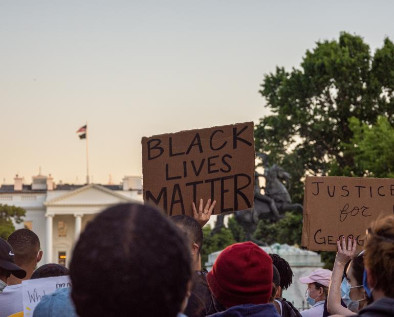 Black Lives Matter protest.