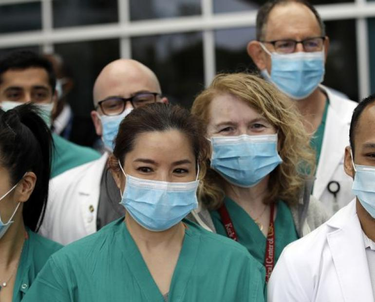 Photo Of Healthcare Workers.