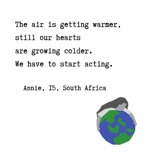 Quote about climate action