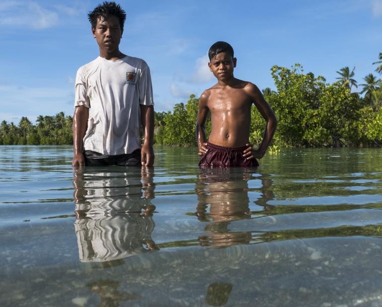 Floodings in Kiribati