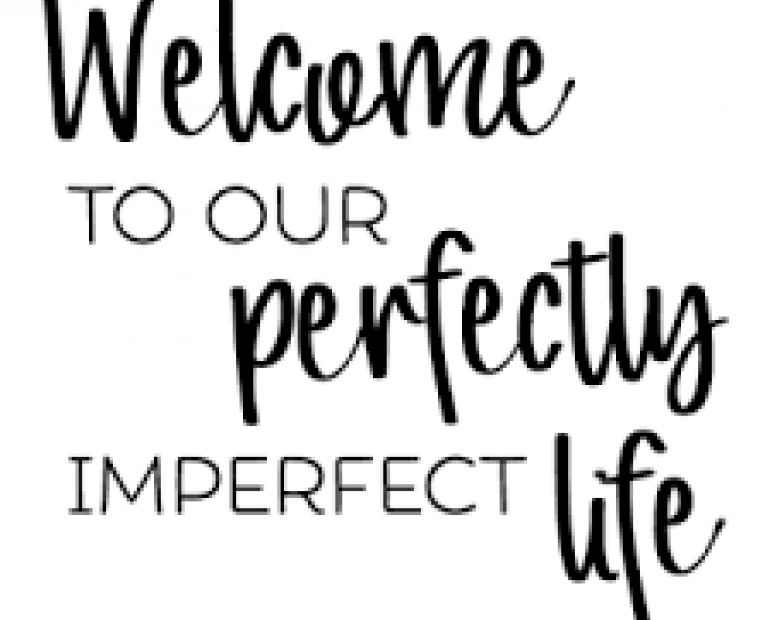 welcome to an perfectly imperfect world!