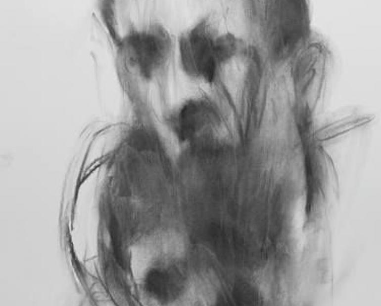 A Smudged Image of a Face