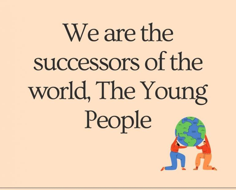 we are the successors of the world