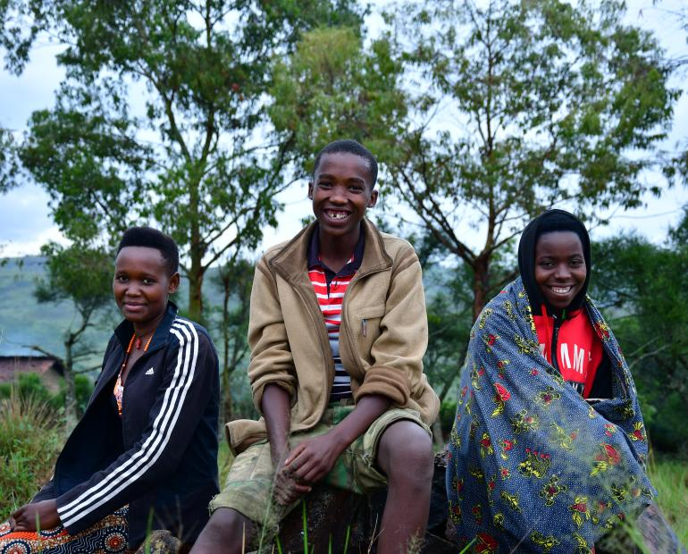 Young peacebuilders in Burundi