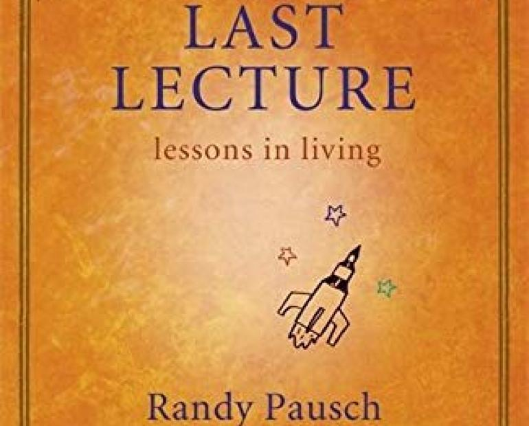 "Book cover of ""The Last Lecture"" by Randy Pausch"