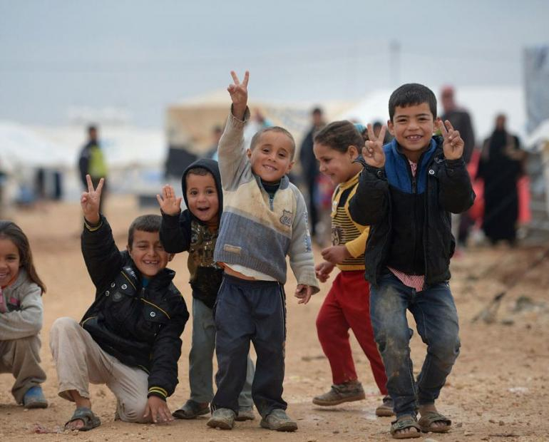 5 Syrian Children