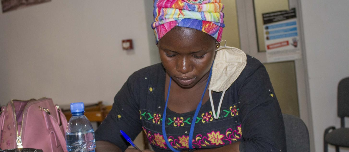 """""""I was born in a united Mali, strong and rich with its humans' diversity. Today, I am lost, so many dead, children orphaned, or simply killed and even enrolled as soldiers. My only wish is that peace returns and that we live in harmony as before. """" - Aichata Diarra, 23 years, Kayes"""