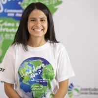 Sara Cognuck, activista climática de Costa Rica