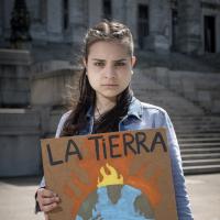 Ariana Palombo, activista por el medio ambiente de Uruguay