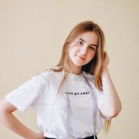 Yuliia Hurnitska, co-founder of Green Line eco-workshop, 14 years old