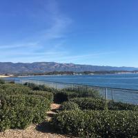 Sea view in California.