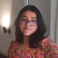 This is a picture of my profile. My name is Sneha Sharon Patra.