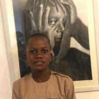 My name is Hamzat faruq olamide. I am 13 year old, I'm hyperealism artist , I was born in lagos state. I started drawing when I was in 7 year old,then I drew with my classmates when I was in basic classes, In year 2018 I discovered myself when I joined ayowoleacademyofart. I always inspired by the work of hyperealism work And I was inspired by jonodry,arinze,etc...that is the pencil artist that inspired me alot The concept behind my art are the reflection of human feeling.